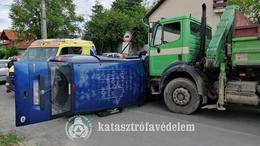 Hármas karambol a Puskin utcában