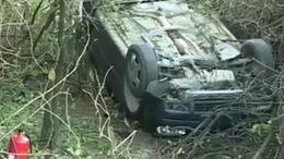 Ittas volt a sofőr, aki fejreállt az autójával Magyaratádnál
