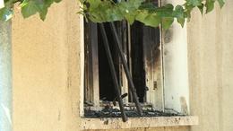 Családi ház lángolt a Losonc utcában