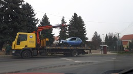 Több baleset is volt ma a megyében