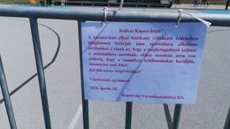 Továbbra is érvényesek a pénteken bevezetett kaposvári korlátozások