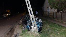 Ittasan balesetezett az ukrán férfi