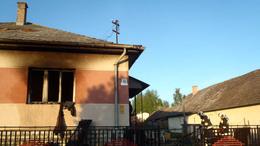 Egy ember életét veszítette egy kapolyi háztűzben