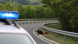 Motoros tragédia az M7-esen