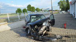 Rommá törte autóját Nagyatádon