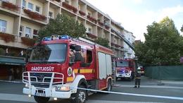 Tűz ütött ki a Kapos Hotelben
