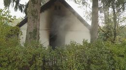 Teljesen kiégett egy családi ház Kaposszerdahelyen