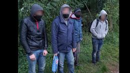 Migránsokat tartóztattak fel Berzencénél