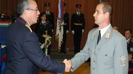 A siófoki tűzoltóparancsnokot alezredessé léptették elő