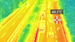 Hőségriadó idején az utak mentén
