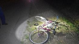 Közúti balesetet okozott a piás bringás