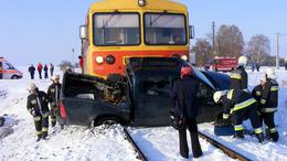 Halálos veszély a vasúti átjáróknál