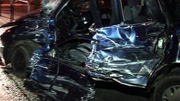 Kamion és autó ütközött Mernyén