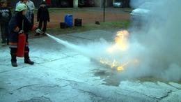Tűzoltó szakkör Marcaliban