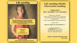 Life coaching előadás Kaposváron!