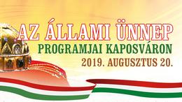 Így ünnepel Kaposvár augusztus 20-án