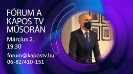 Kérdezzen Ön is Kaposvár polgármesterétől!
