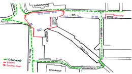 Védettségi igazolvány és lehetséges útvonalak a belvárosban