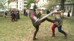 Megelevenedett a középkor Kaposvár belvárosában