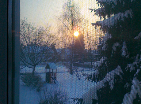 tél reggel