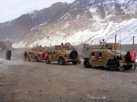 Humwee Afganisztánban