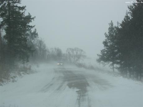 hófúvás