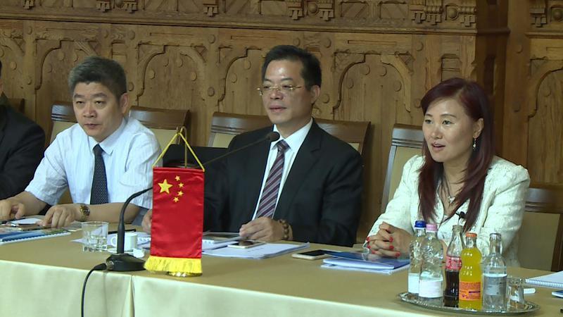 kínai delegáció