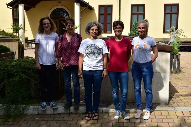 Felnőtt csapat: Nemes Katalin Teréz, Majoros Bernadett, Ivanics Beáta, dr. Benkőné Berta Zsófia, Pandur Marianna.