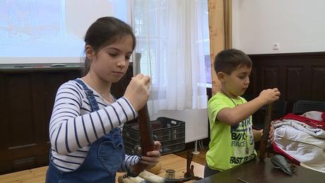 Donneri gyerekeknek szervezett tábort a múzeum
