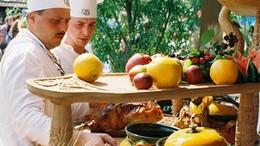 A Mátyás-kori ételekkel versengtek