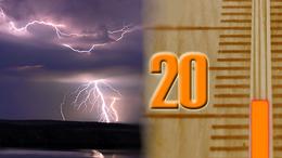 Nyári vihar, jégeső és erős szél Kaposváron és környékén!