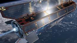 A Föld felfedező missziót végző műhold 3D-s filmen
