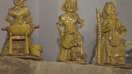Mézből készült bábfigurák Hetesen