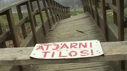 Végét járja a Városligeti híd