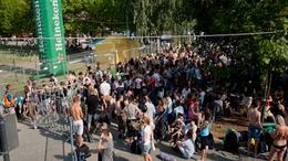 Beindult a party a Balaton Soundon