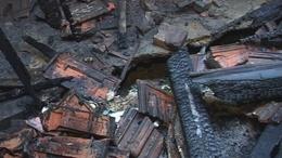 Családi ház égett a kaposvári Jókai utcában