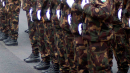 Nagy az érdeklődés a katonai pálya iránt.