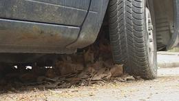 Egyre több az elhagyott, láthatóan használaton kívüli autó Kaposváron - videóval!