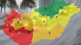 Veszélyes hóvihar közeledik Somogy felé!