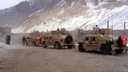 Megtámadták a magyar konvojt Afganisztánban