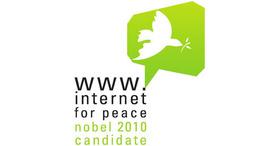 Az internetet is jelölték a 2010-es Nobel békedíjra