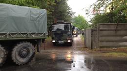 Katonai konvojra figyelmeztet a honvédség!