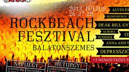 Péntektől Rock Beach Fesztivál Balatonszemesen