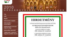 Hackertámadás érte az Országos Választási Iroda weboldalát