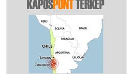8,8-as erősségű földrengés
