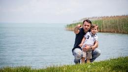 Balatonon nyaraltak Majkáék