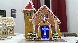 Még a templom is mézeskalácsból készült