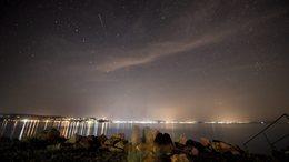 Meteorraj repkedett a Balaton felett