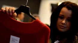 Kaposvár szépei a Bellissima Moda üzletében