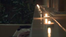 Gyertyafényes romantika a Virágfürdőben